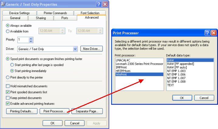 Generic Text Printer Driver Download